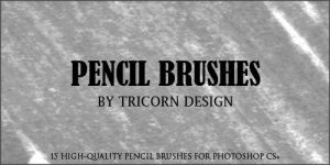 Pencil Brushes by TriCornDesign