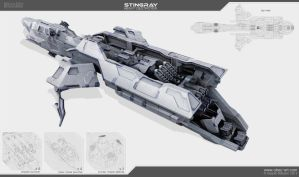 Stingray - destroyer by Obey-art