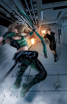 Robyn Hood (Ongoing) #3 cover B by Yleniadn86