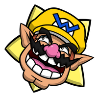 Mario Party - Wario Party Star by EnterMEUN