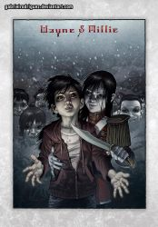 Nos4a2 Wayne and Millie Color by GabrielRodriguez