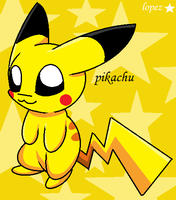 Pikachu ( fan art ) by lopez765