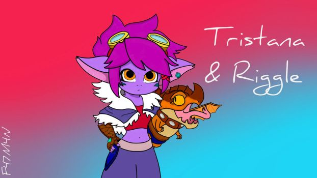 Tristana and Riggle by F47M4N