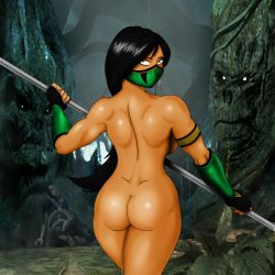 Sexy Jade Living Forest by TheGeckoNinja