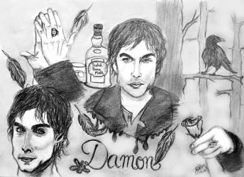 Team Damon by Mrs-C