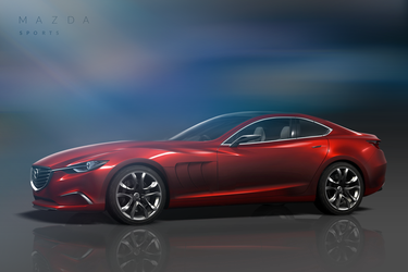 Mazda RX7 Concept by yellywoo
