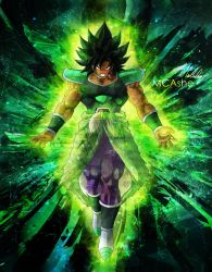 Broly Legendary warrior by MCAshe
