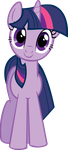 Twilight Sparkle Hugs Vector by kittyhawk-contrail