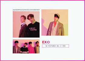 Photopack 2552 // EXO. by xAsianPhotopacks