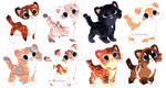 Cat Adopts 8 [CLOSED} by Chintzy-Adopts