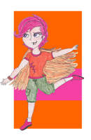 MLP FiM Humans: Scootaloo by TheGirlOnXboxLive