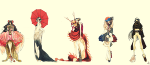APH nyo: east asia by vivalalixi