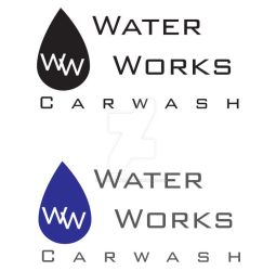 Water Works Logo by SerafinaMoon