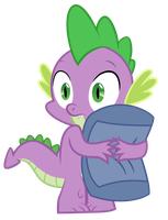 Scared Spike Vector Trace by chinchillax