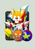 Tails Casino Night by Nerkin