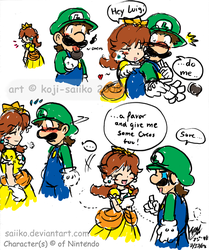 Mario: Give it to me... by saiiko