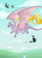 The princess and the dragon by Chpi