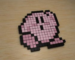 Kirby blender with cubes by jaruworks