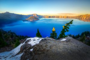 Oregon Crater Lake National Park by alierturk