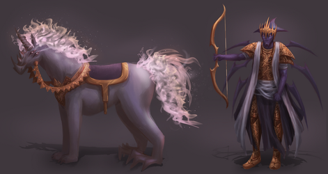 1st Horseman Concept by stallout