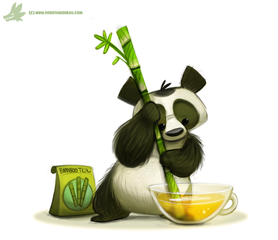 Daily Painting #965. Tea Maker (OG) by Cryptid-Creations