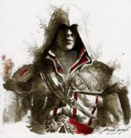 Ezio Auditore by ArcticHorizont