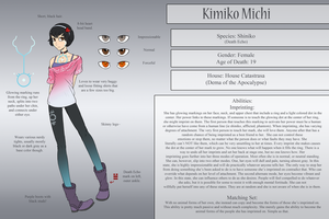 Kimiko Michi by BluePawProductions