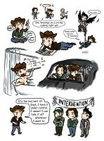 SPN: First step is admitting.. by blackbirdrose