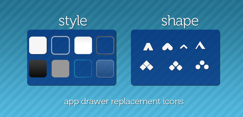 app drawer icons by MisterFatJ