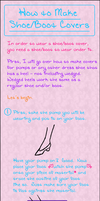 Shoe Cover Tutorial by Lingering-Tears