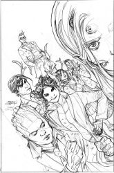 Generation X #1 Cover Pencils by TerryDodson