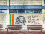 always Tel Aviv - Bob Marley graffiti by Rikitza