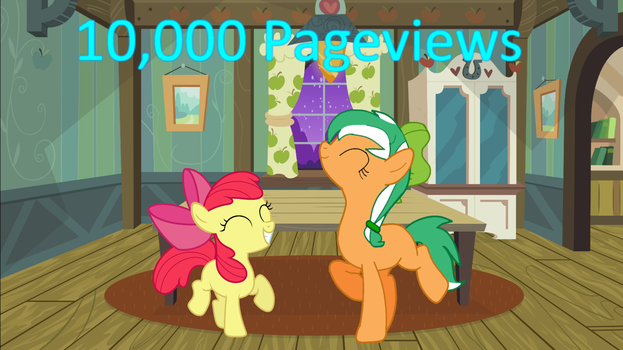 10,000 PageViews by EmoshyVinyl