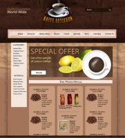 CoffeeShop - FrontPage by 5p34k