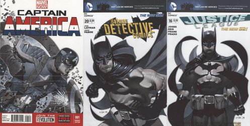 Sketch Cover Set 1 by ChristopherStevens