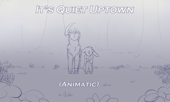 The Night Baskers - It's Quiet Uptown (Animatic) by MiaMaha