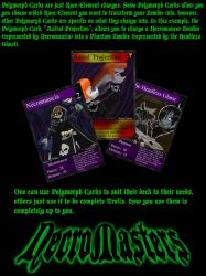 NecroMasters - Polymorph Cards by PlayboyVampire