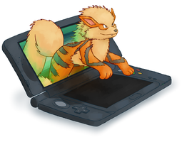 arcanine by Pyritie