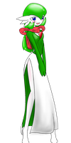 Sarah the Gardevoir by livinlovindude
