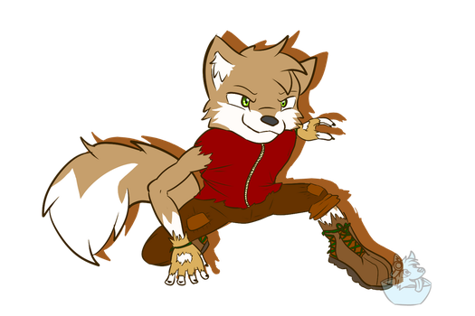 .:Request:. Ricky Anthro by FrostyWolfter