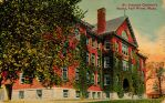 Vintage New England - Ivy-Covered Orphanage by Yesterdays-Paper