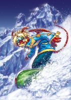 Snowboarding Max by Fany001