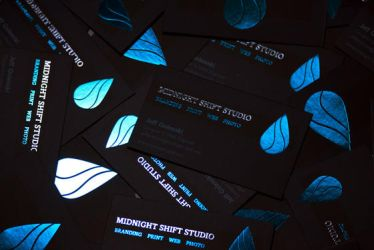 Midnight Shift Studio: Business Cards 2011 by maverick3x6