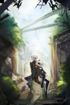 Nier by h-yde