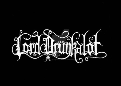 Lord Drunkalot logo by ArtsOfTheUnspeakable