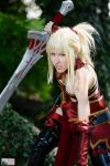 Mordred Armorless Fate Grand Order cosplay by DrosselTira
