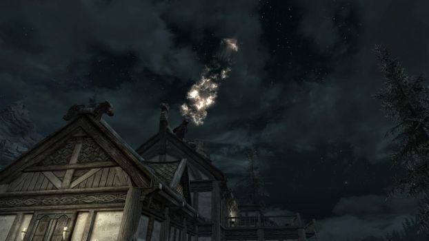 Party at the Dovahkiin. Part 4. Fire Show by totalfreak2002