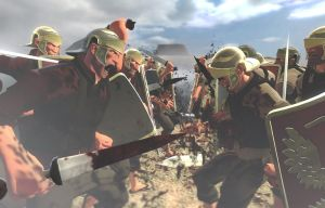 42 BC - Battle of Philippi by tigerfaceswe