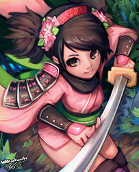 Momohime by HOAIartworks