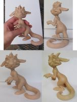 Token Sculpture WIP by Kahiah